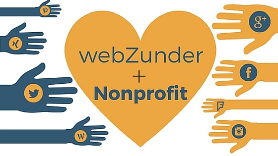 webZunder loves nonprofits, social media to support their causes!