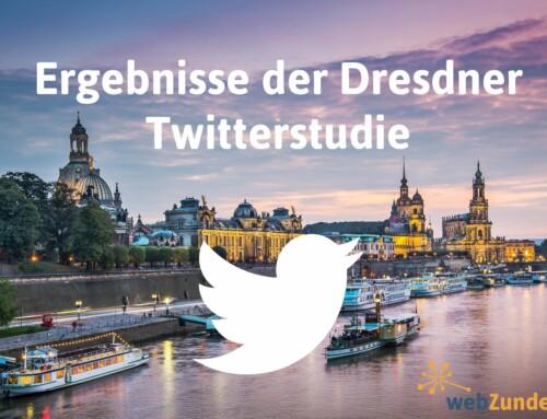 Wie aktiv ist das blaue Vögelchen in Dresden?