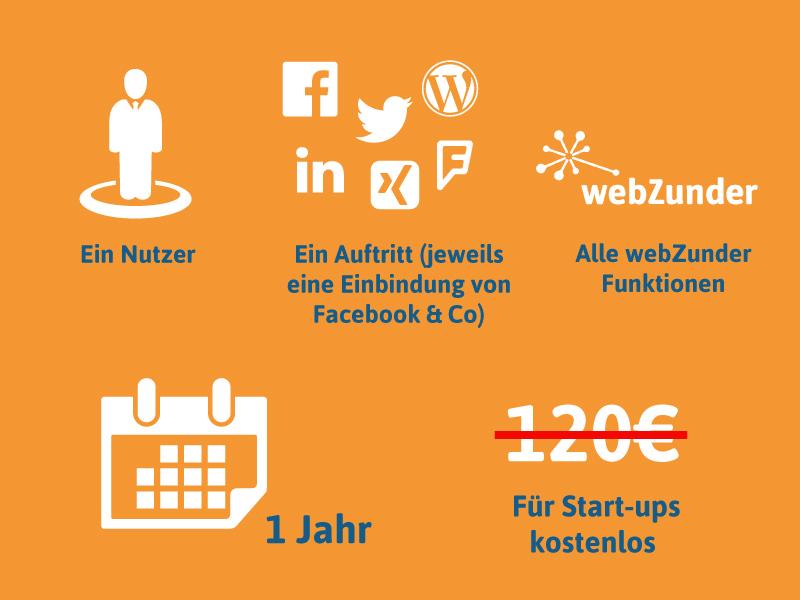 webZunder für Start-ups