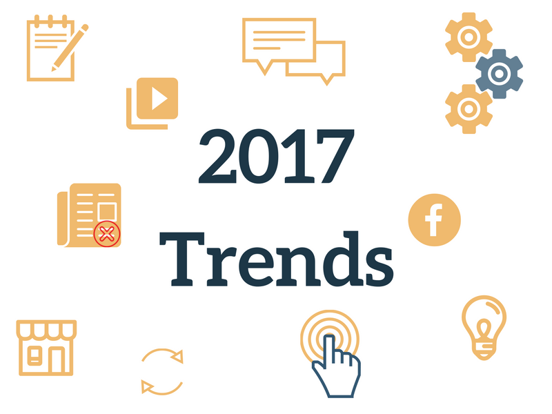 Trends 2017 in communications, social media and small and medium businesses